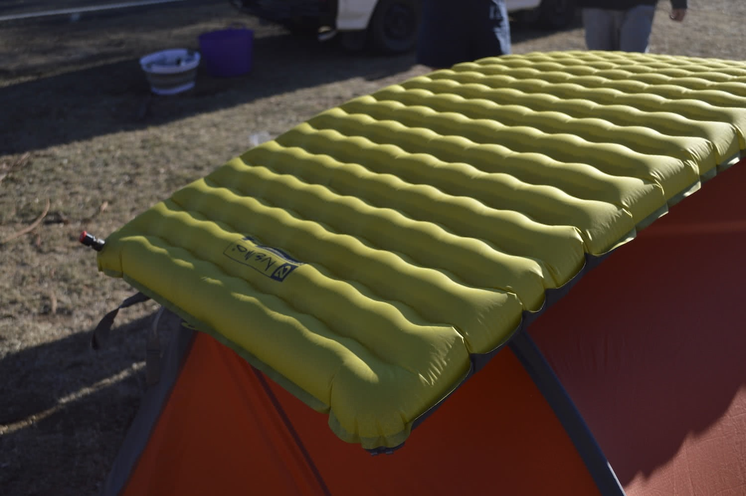 tim ashelford, nemo tensor 25r insulated review, sleeping, air pad, gear,