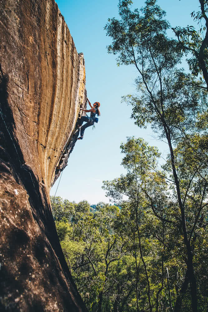 aron hailey, unidentified climber, blue mountains, nsw