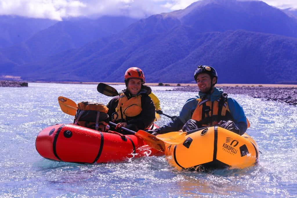 Ode To The River // Canyoning And Packrafting In New Zealand, Xavier Anderson, paddlers, mates, buddies, mountains, river