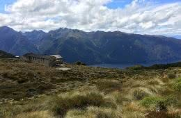 It's A Really Great Walk // Kepler Track (NZ), Nicholas Di Genni, Te Anau Lake, Luxmore, Hut, South Fiord, heath, grassland, valley