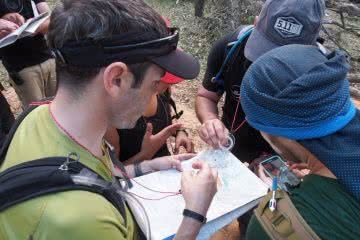 Getting Lost And Finding Fun // Melbourne Wilderness Navigation Course, Jean Baulch, map, compass, group, team, navigation