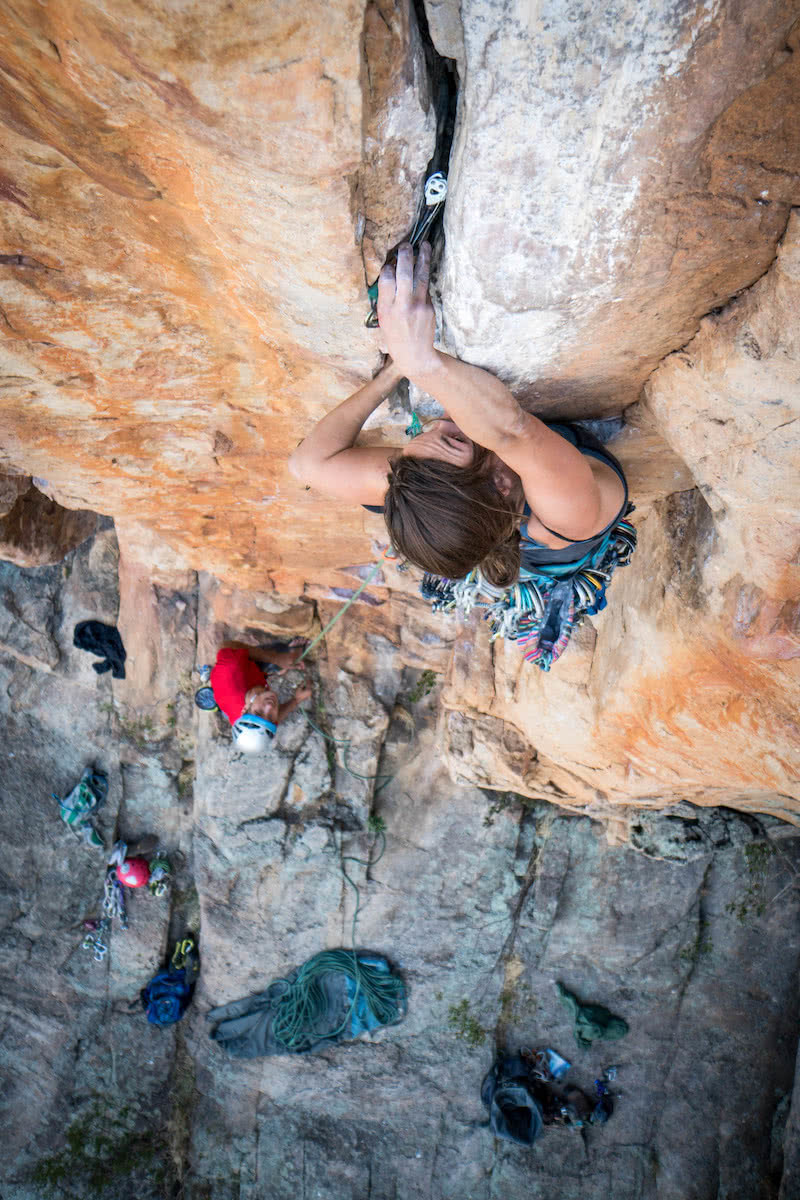 mitchell scanlan-bloor, trad, placement, gear, types of rock climbing