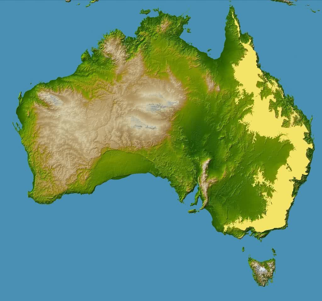 topography of australia, great dividing range, history of climbing in australia