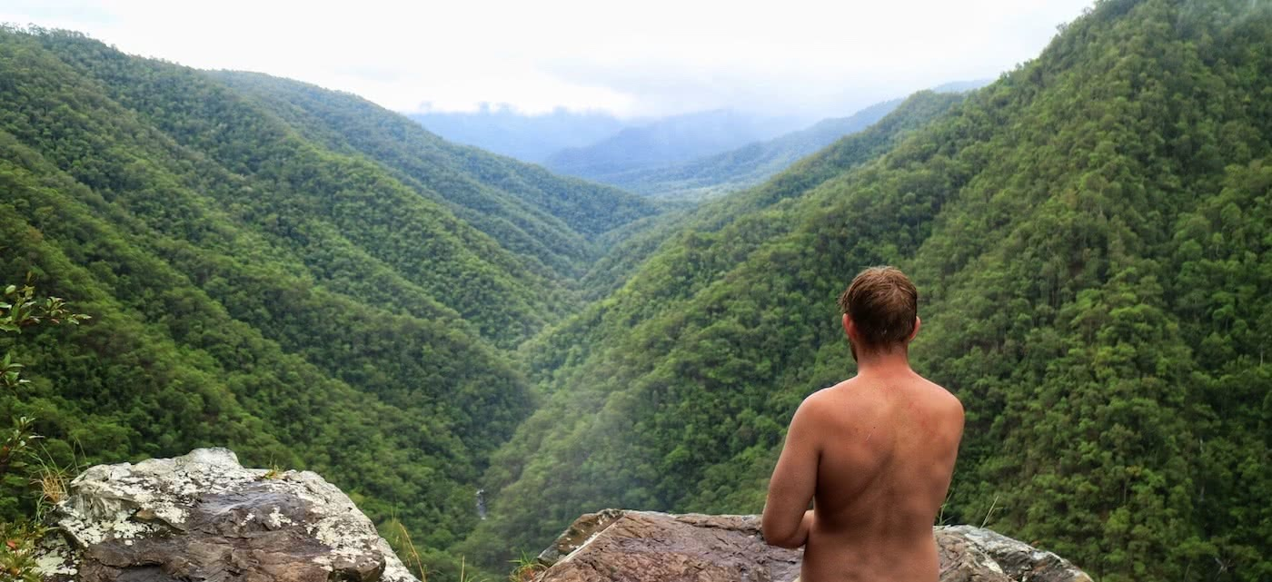 Windin Falls // A Tropical Tableland Oasis (QLD), Grant Purcell, lookout, valley, view, swimmer