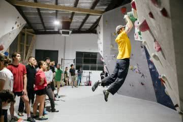 jason lau, arc'teryx, bouldering night, dominic douglas, melbourne, victoria, event,