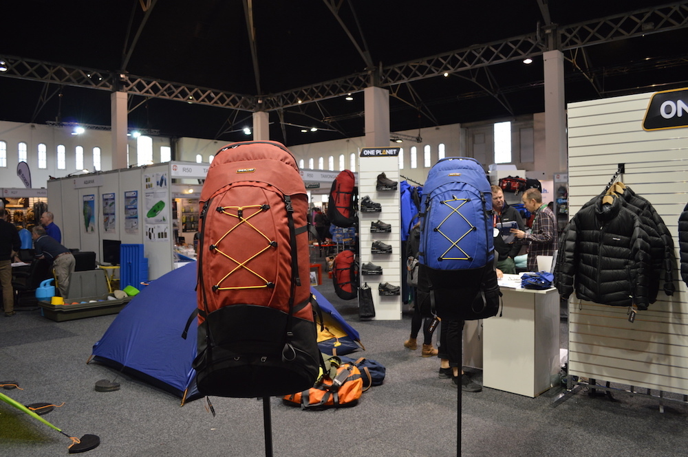 tim ashelford, outdoor retailer australia, new gear, 2018, one planet, hiking packs