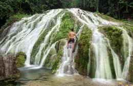Joel Johnsson, lololima falls, private waterfall, wild swimming, vanuatu, tropical, island