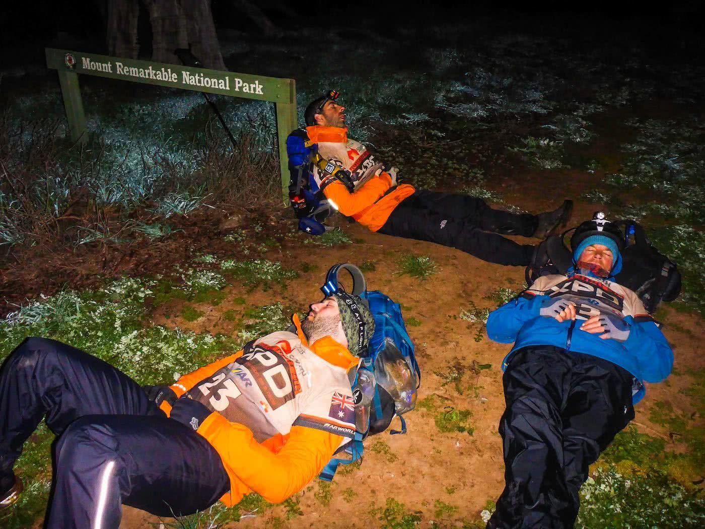 Adventure Racing 101 // How, What, Why...And Why Again? Emily Rowbotham, photo by David Barlow, Mid race power naps, sleeping rough, open air