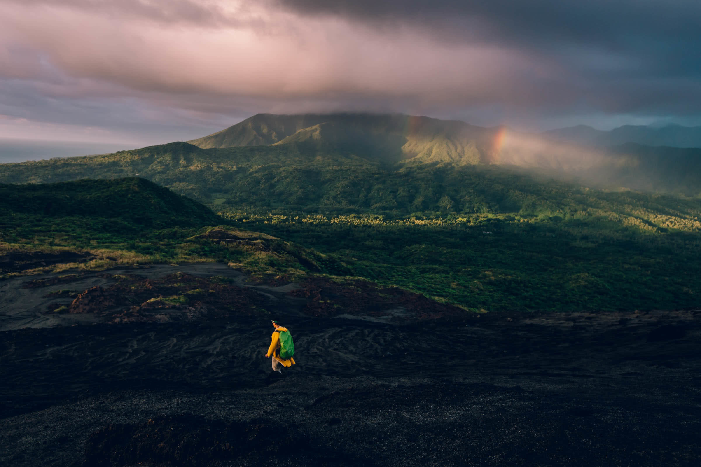 henry brydon, adventuring in paradise, vanuatu, island, pacific, tropical, adventures, mountain, cloud