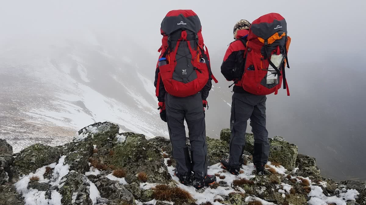 Rachel dimond, kathmandu X We Are Explorers Alpine Trip, Tips for your first winter trip into the backcountry from someone who has been there, snowy mountains Kosciuszko National Park, nsw, packs