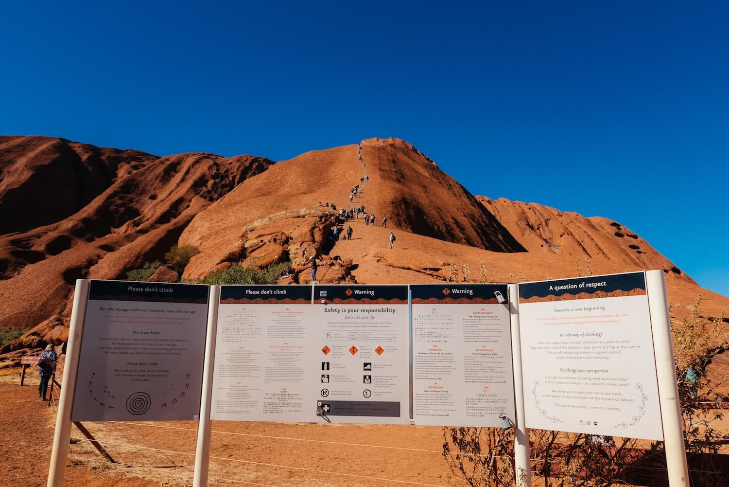 adrian mascenon, uluru, we need to talk about uluru, northern territory, red centre, sign