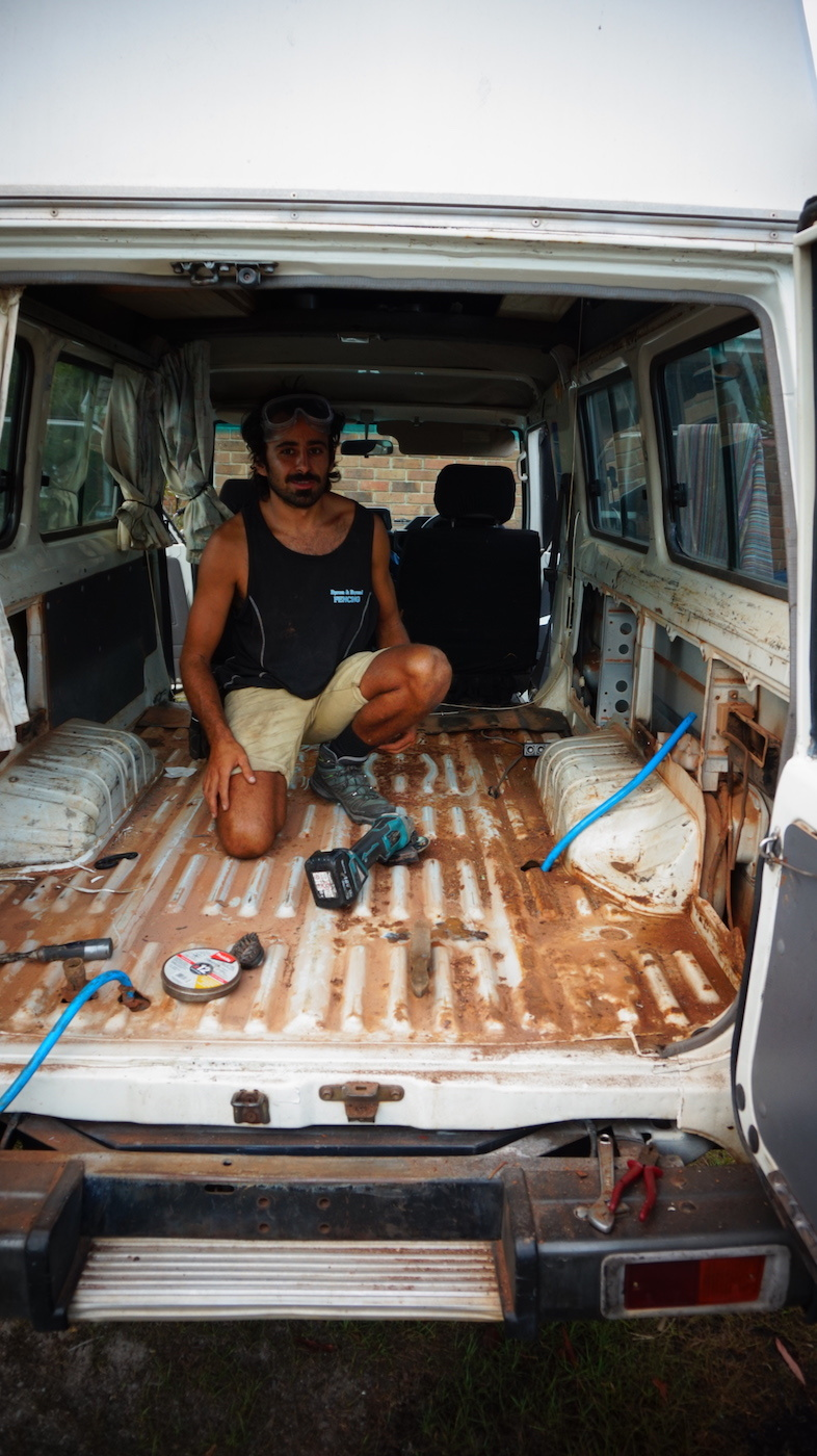 Troopy Travels // Chasing Sunsets From Byron Bay To The Ningaloo Reef, Alice Forrest, ByronBay-NSW, van fit out, DIY, interior