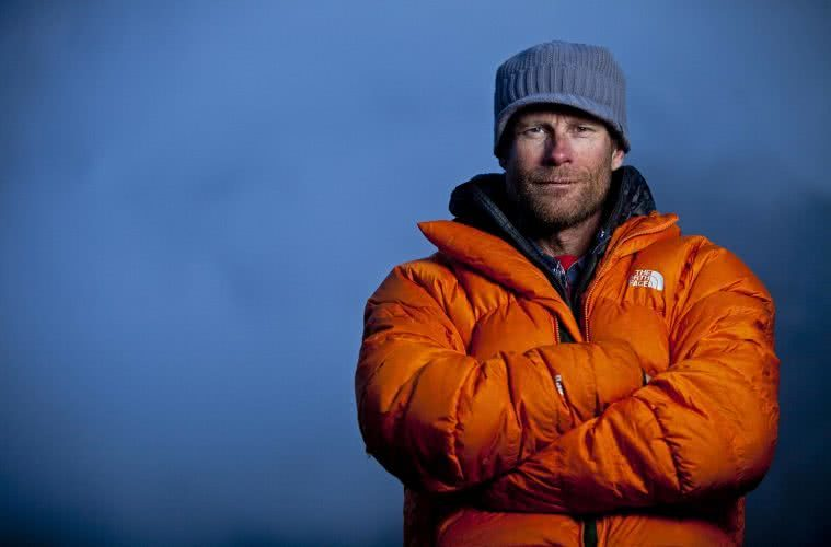 Conrad Anker shot by Jimmy Chin