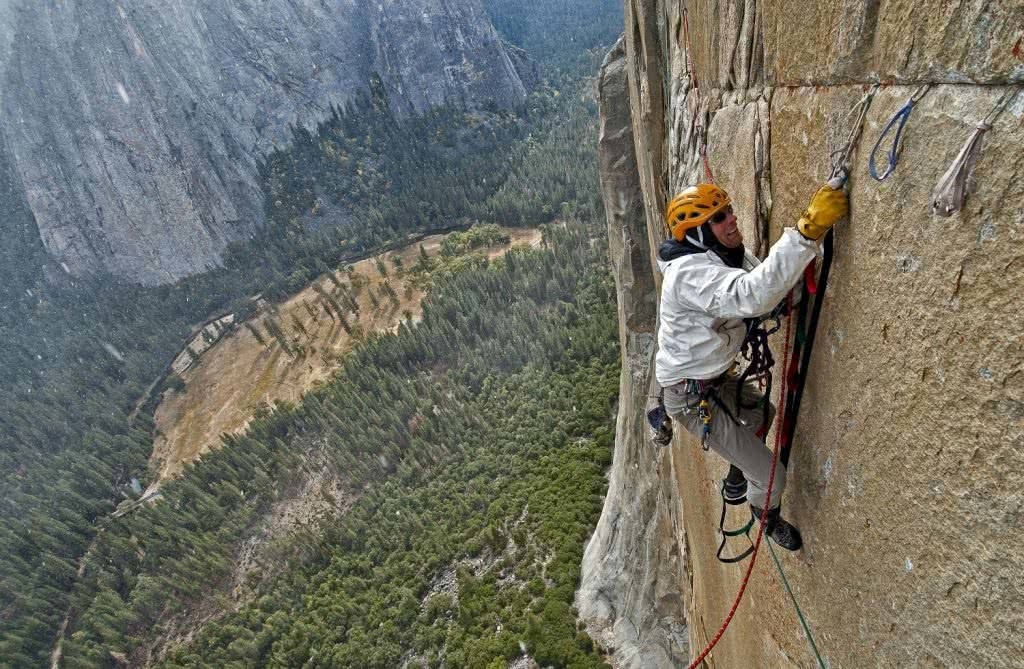 Climbing the Pacific Ocean Wall, El Capitain, Yosemite, CA