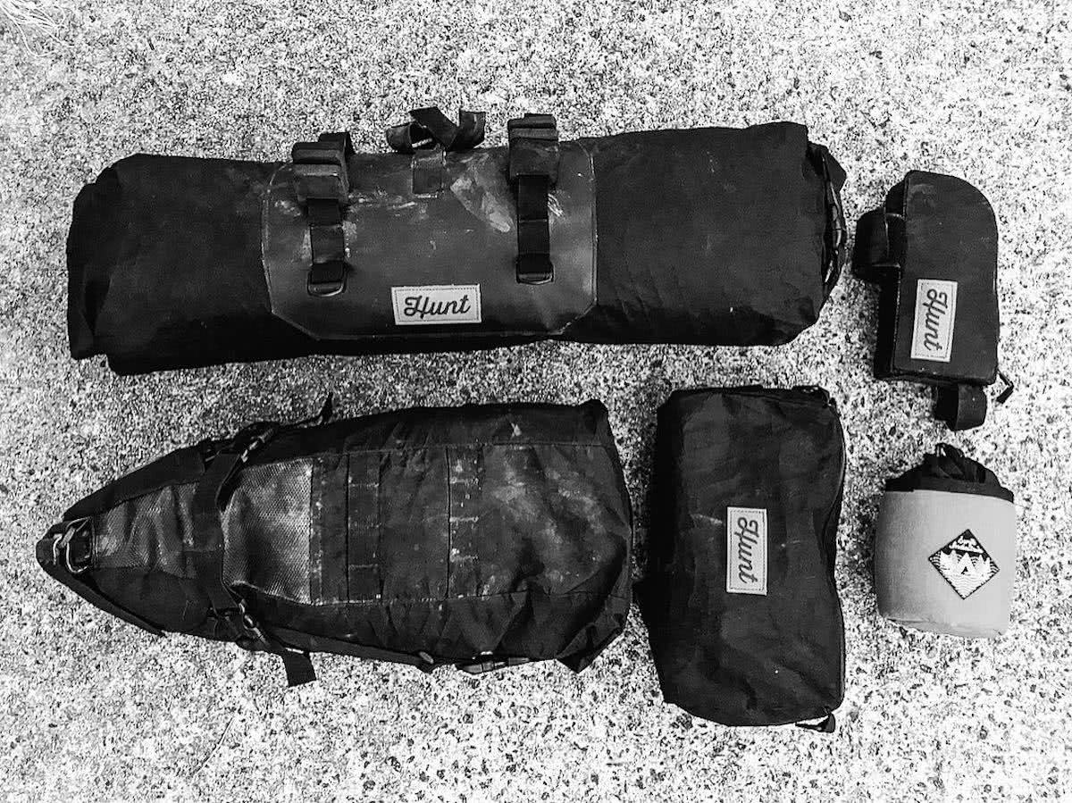 mattie gould, bikepacking, jagungal wilderness, nsw, black and white, photo essay, bikepacking bags