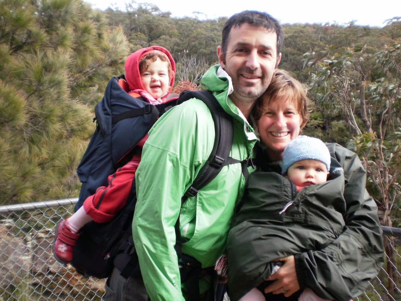 Training Kids Up For Multi-Day Hikes, Helen Cooper, family, baby, toddler, carry backpack, dad, mum, outdoorsy