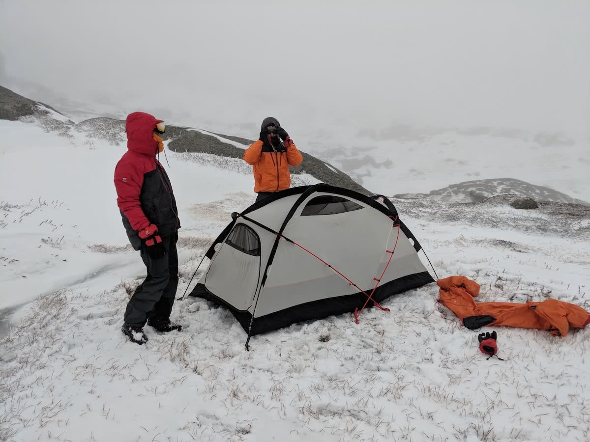 Rachel Dimond, Kathmandu, xt series gear test, snowy mountains, kosciuszko national park, nsw, tent