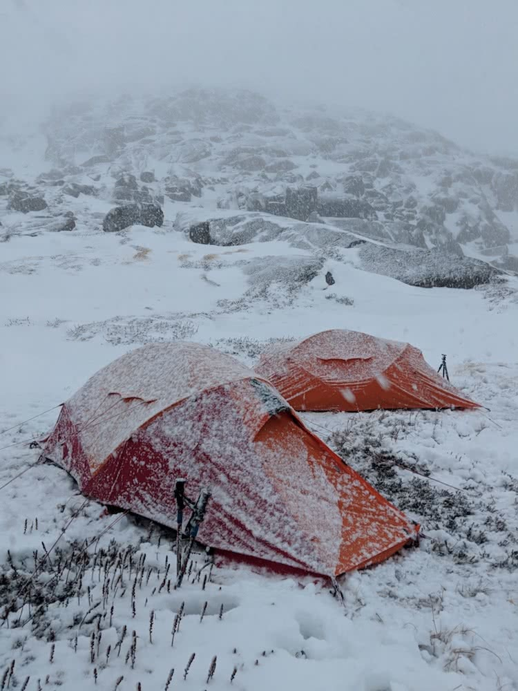 Rachel Dimond, Kathmandu, xt series gear test, snowy mountains, kosciuszko national park, nsw
