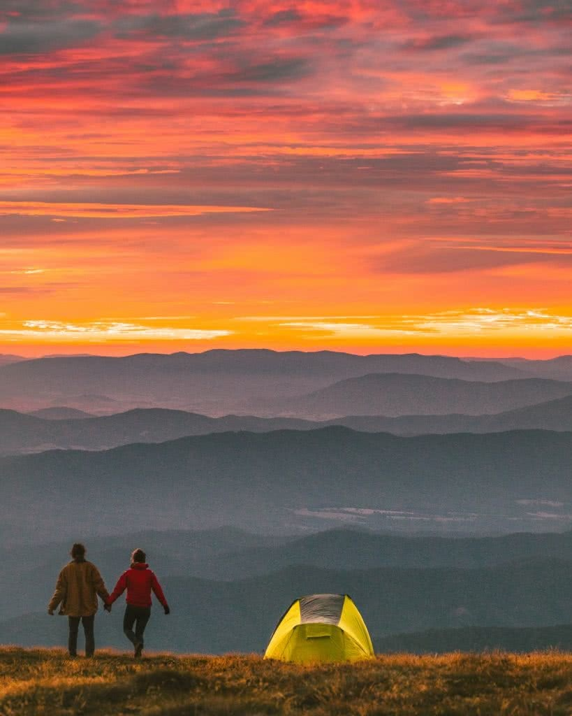 snowy mountains tent camping mitch cox