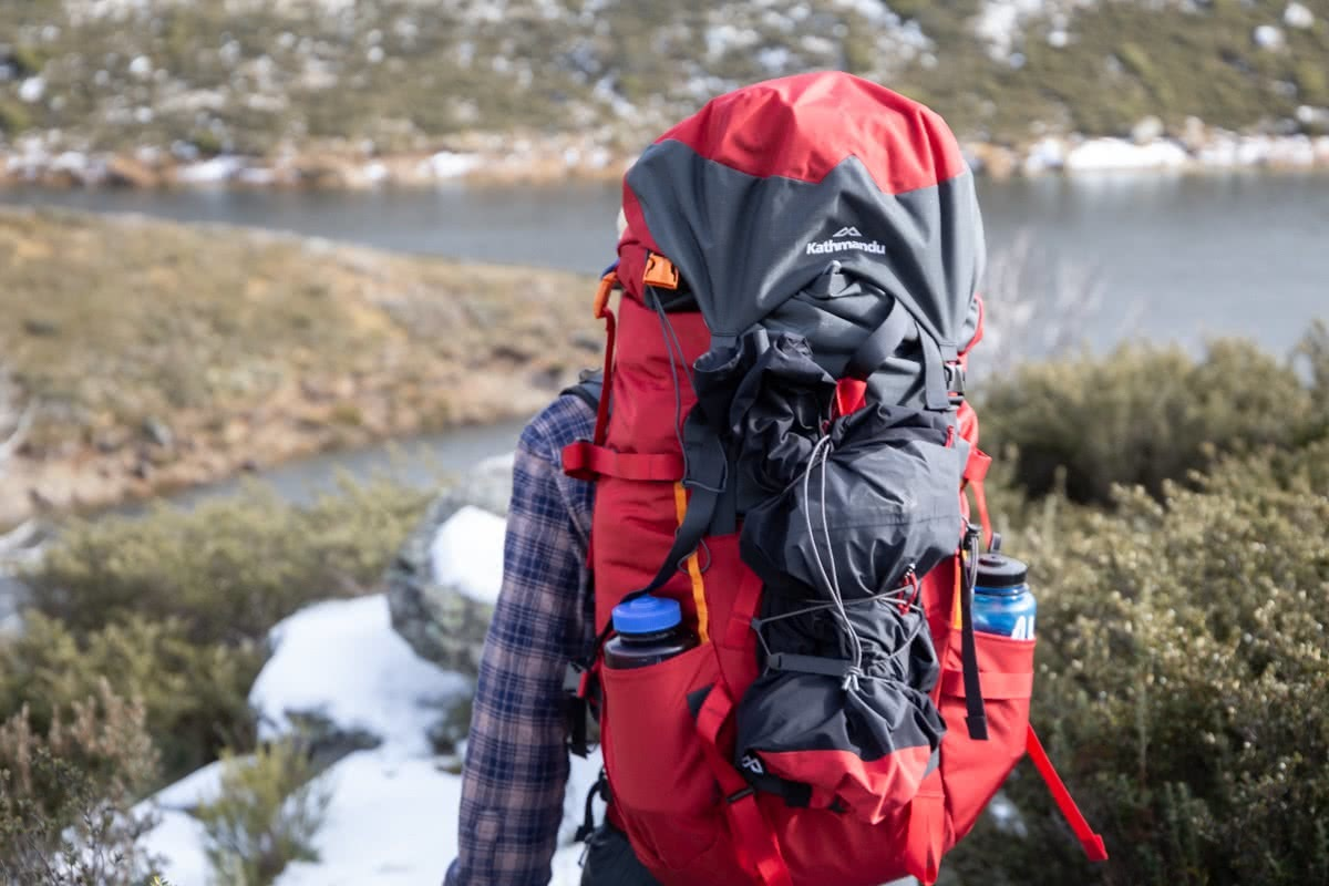 Rachel Dimond, Kathmandu, xt series gear test, snowy mountains, kosciuszko national park, nsw, pack