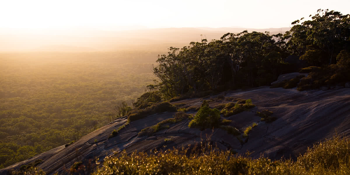 The Bare Beauty Of Bald Rock National Park (NSW) // Photo Essay, Liam Hardy, haze, distance