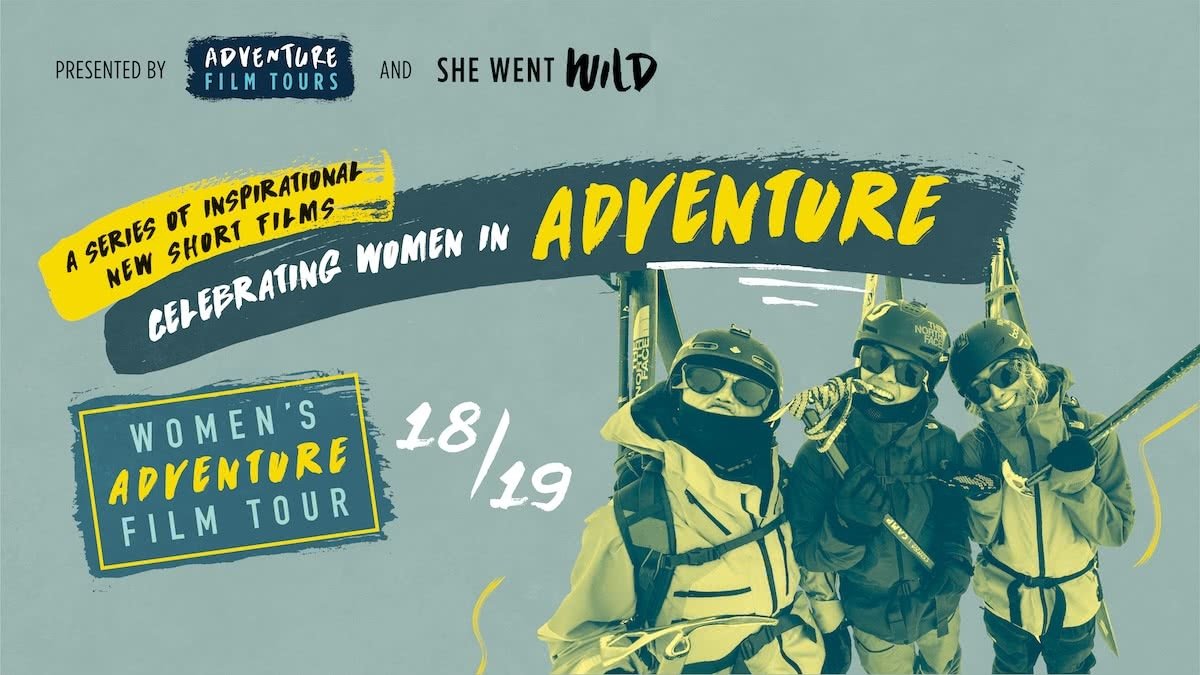 Event_Banner, women's adventure film tour