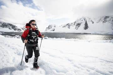 Journey to All 7 Continents, women's adventure film tour