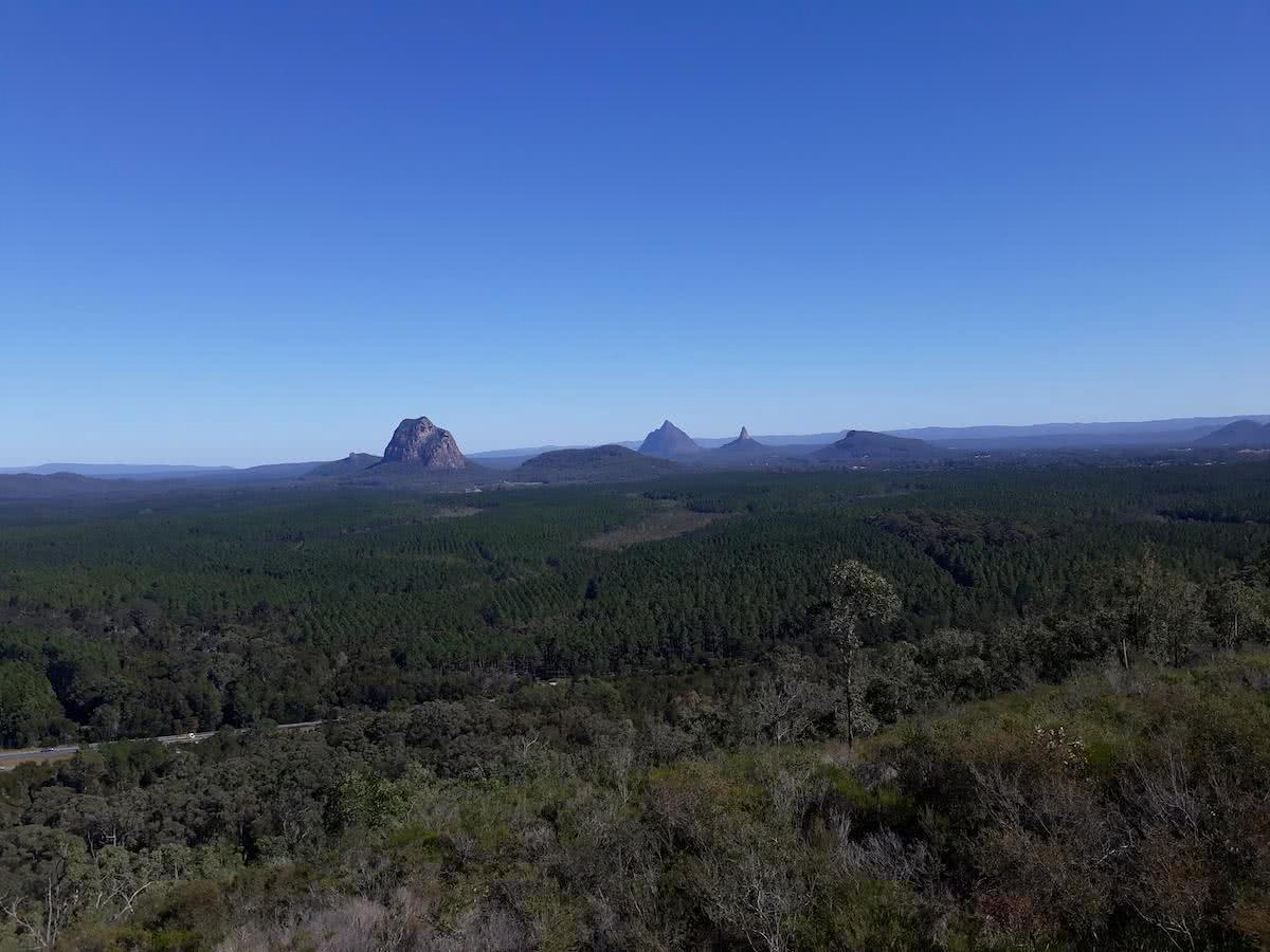 The 7 Peaks Challenge // Glass House Mountains, Chris Sneath, South East Queensland, University of Queensland Mountain Club, climbing, sunrise, sunset