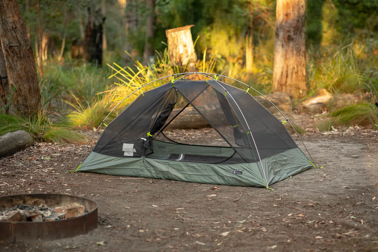 Sleeping Like A Star - NEMO Galaxi 2P // Gear Review, Jon harris, review by Mattie Gould, meroo head camp ground, nsw