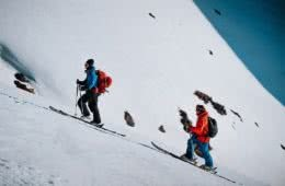Wait, Australia Has Backcountry Skiing? Is It Any Good? Photo by Ain Raadick or Ben Savage, Arc'teryx event, snow, skiers, backpacks, uphill