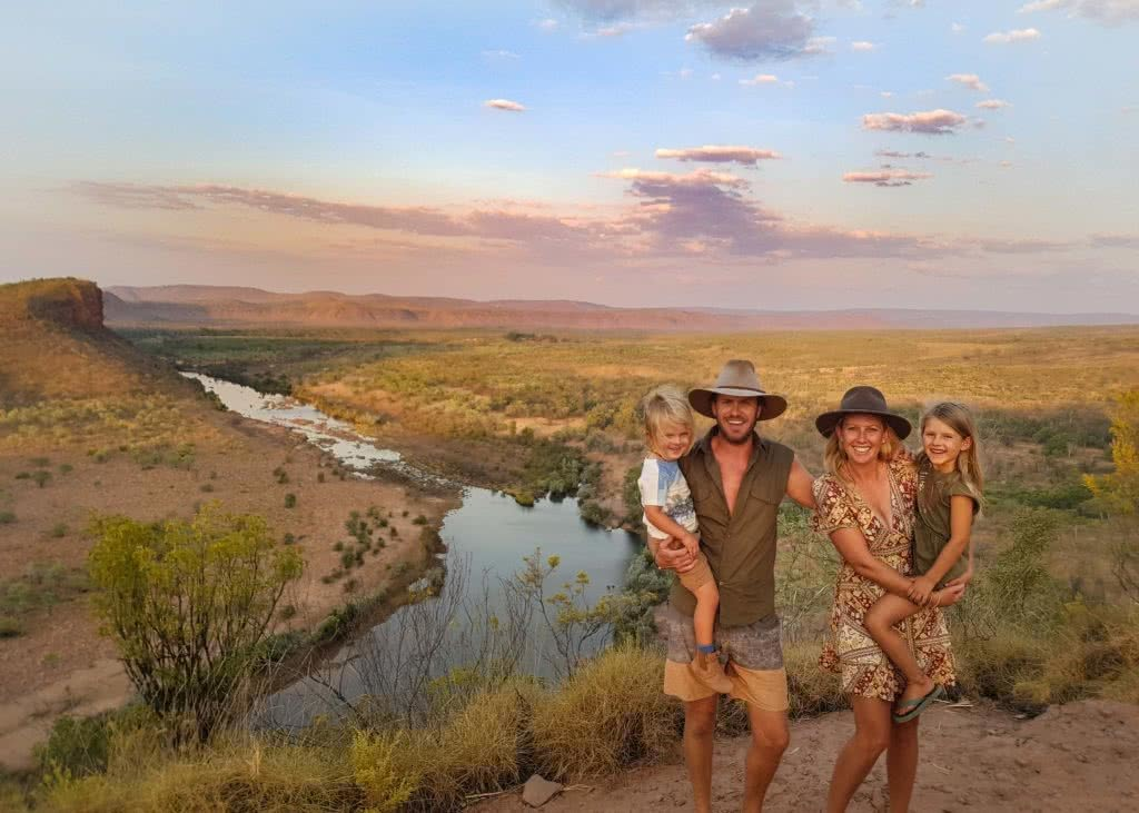 These Adventure Parents Are Re-Writing The Rule Book - the blonde nomads - family outback