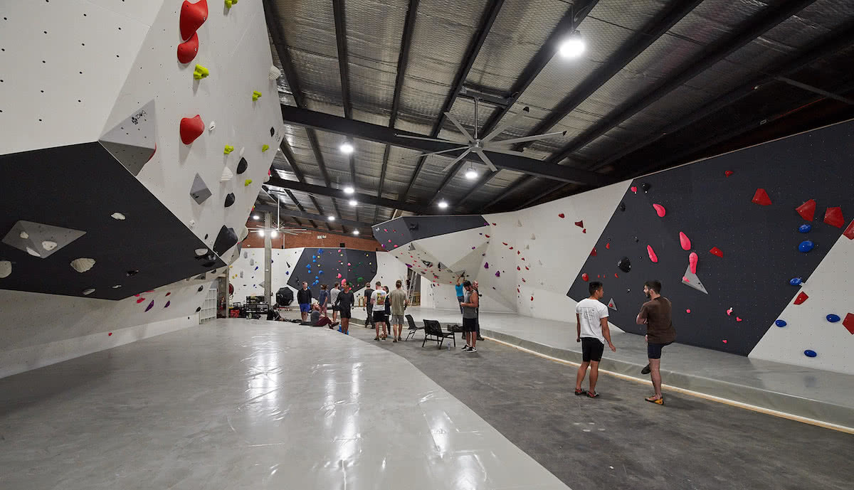We Checked Out Sydney's Newest Bouldering Gym, Neil Massey,, Bouldering, 9 Degrees Lane cove