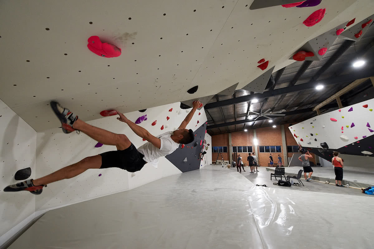 We Checked Out Sydney's Newest Bouldering Gym, Neil Massey, Jeremy, Bouldering, 9 Degrees, Lane cove