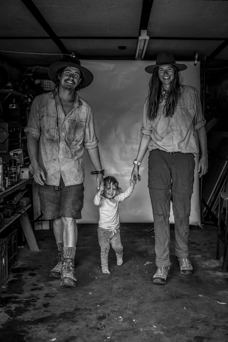 These Adventure Parents Are Re-Writing The Rule Book - Justin and Lauren Jones - family portrait