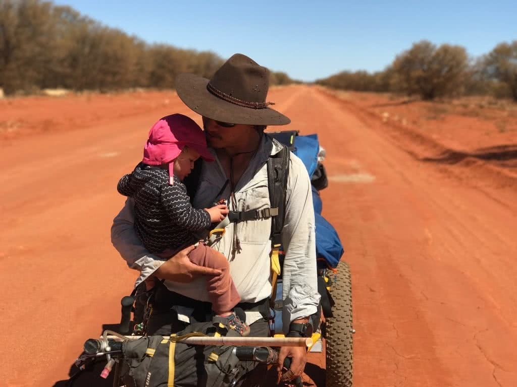 These Adventure Parents Are Re-Writing The Rule Book - Justin and Lauren Jones - desert kid child toddler