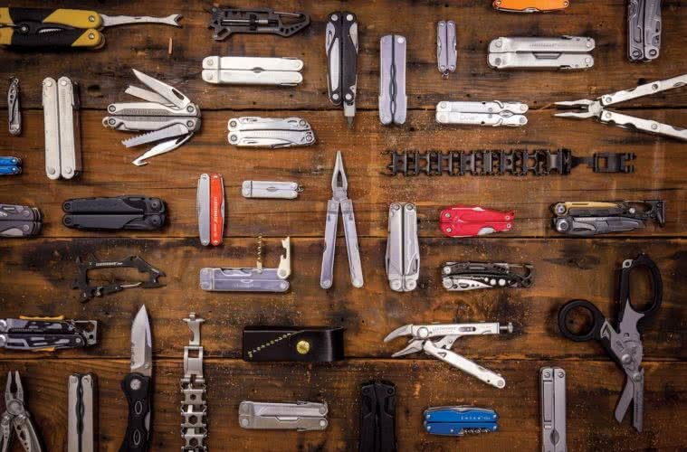 The Multitool Master // An Interview With Tim Leatherman, Brooke Nolan, photo from PR agency, gear, tools, pliers, knife, knives