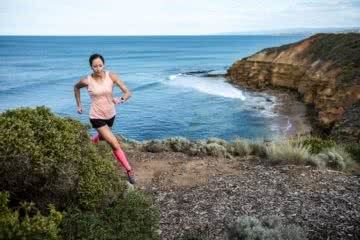 5 Things no one tells you about running a long way Ben Harris photo by Chris Ord ocean trail running runner cliff Pt Addis_Kellie Emmerson_Chris Ord