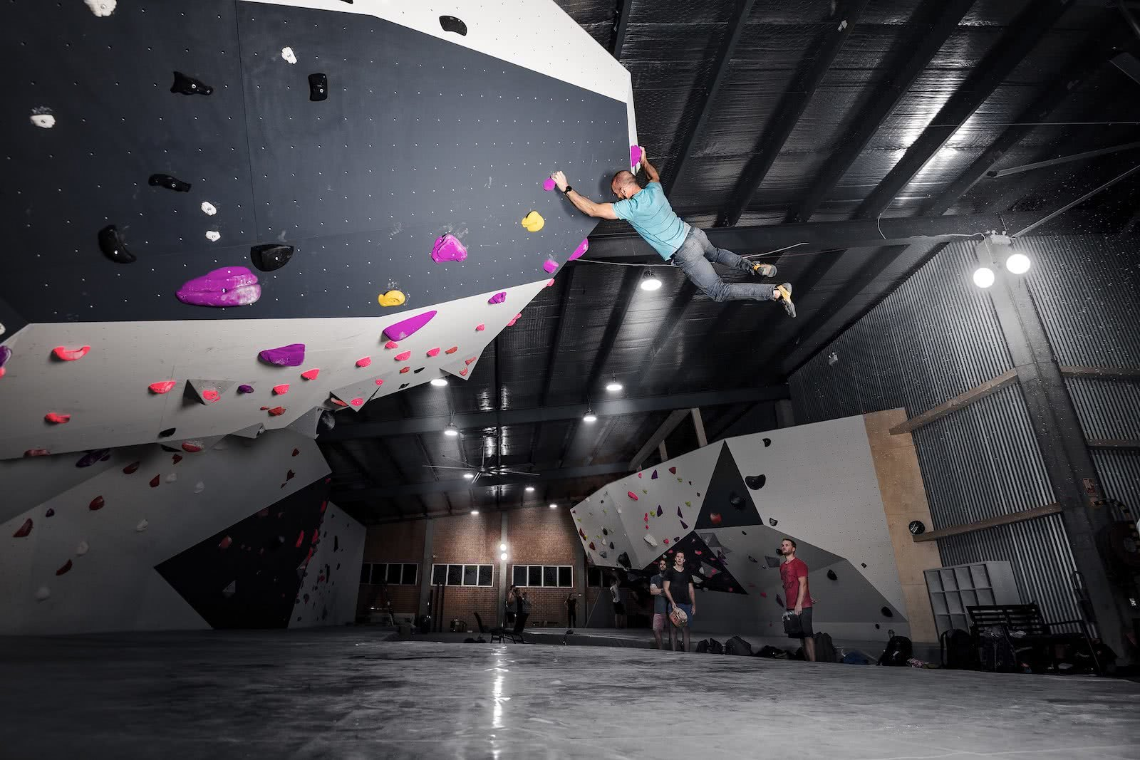 We Checked Out Sydney's Newest Bouldering Gym, Jake Anderson, Rod, Bouldering, 9 Degrees Lane cove
