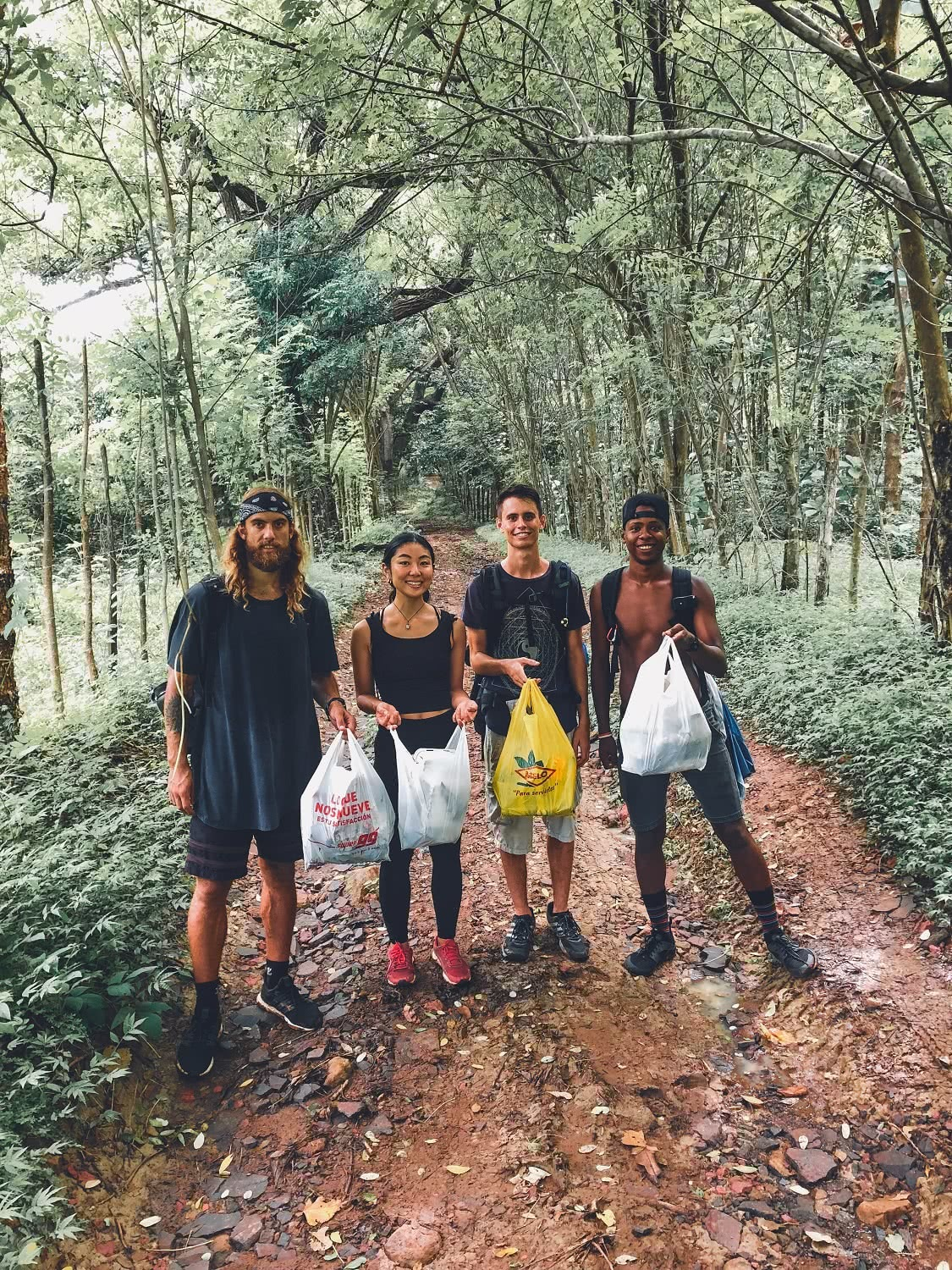 Grab An Adventure Bag And Get Out There! Jackson Groves clean up forest