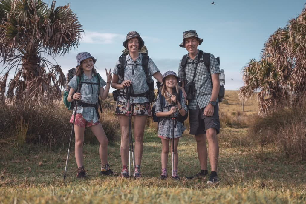 These Adventure Parents Are Re-Writing The Rule Book - Only Footprints family hikers