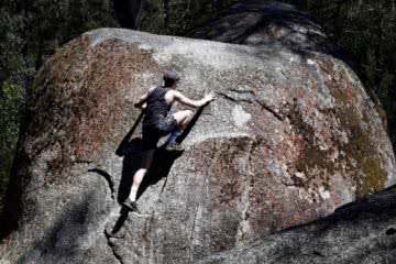 Boulders And Bunyips // Four Brothers Rocks - Bunyip State Park (VIC), Alex Kostas, boulder, bouldering, climber