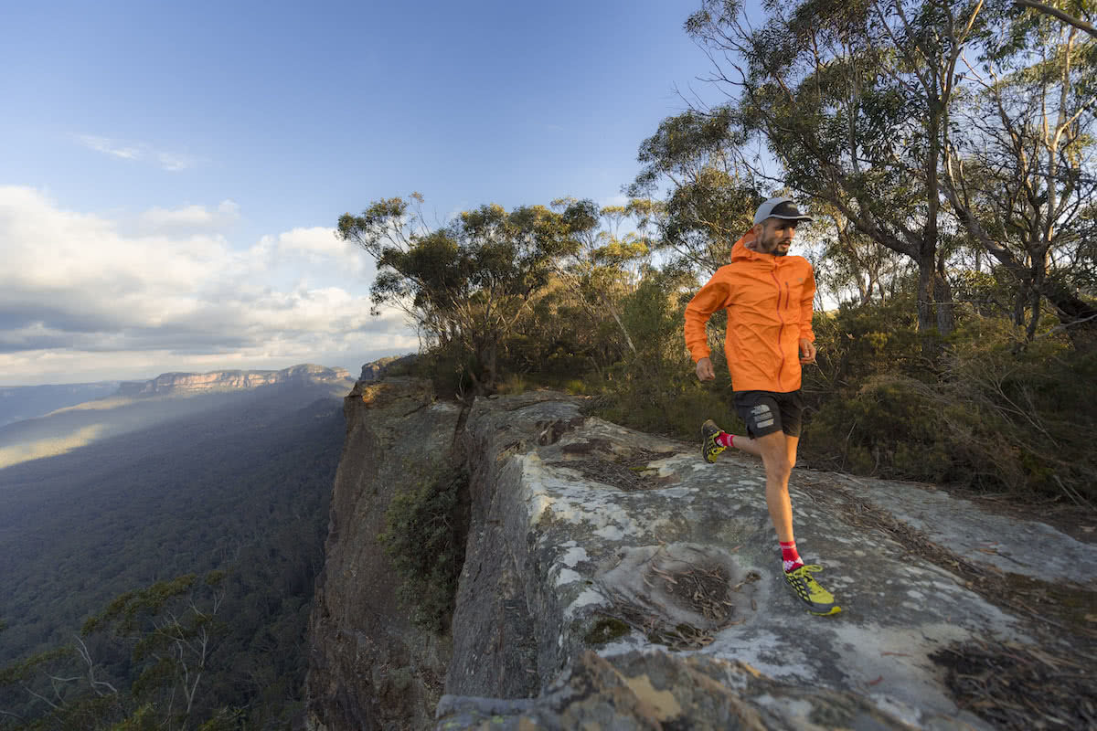 The North Face Pros Reveal Their Favourite Trail Runs, David Byrne, Photo by Mark Watson, blue mountains, trail running month