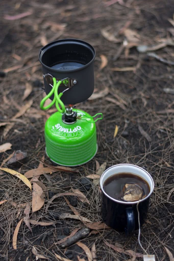 How to plan a hike Mat N Kat Pearce stove cup tea