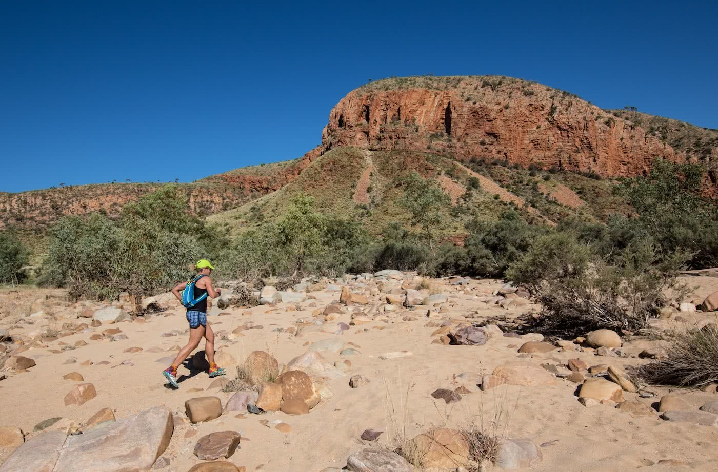 Lessons From A Trail Running Rookie, Simone Mckeown, photographer Chris Ord, runner, desert