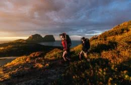 Osprey Adventure Grant Image Henry Brydon hiking, lord howe island, sunrise, mountain