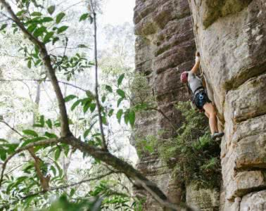 The Barriers To Getting Outside (And How To Hurdle Them!), Pat Suraseang, wilderness escape, hike club series, kathmandu, Nowra, abseiling