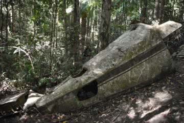 Discover The Piper Comanche Plane Wreck // D'Aguilar National Park (QLD), Lisa Owen, Fuselage