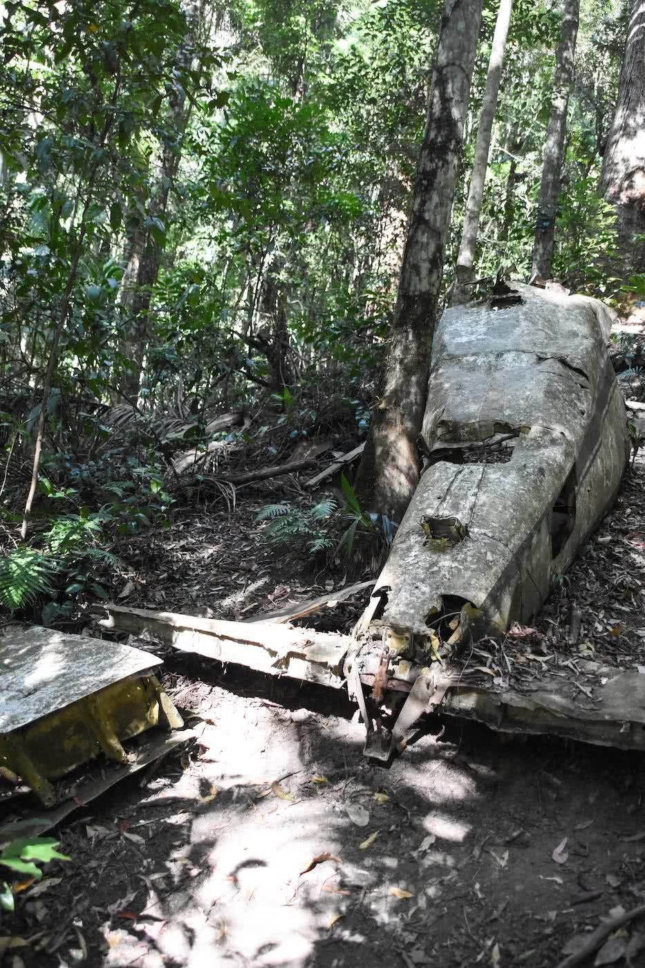 Discover The Piper Comanche Plane Wreck // D'Aguilar National Park (QLD), Lisa Owen, fuselage, rusty, broken, crashed
