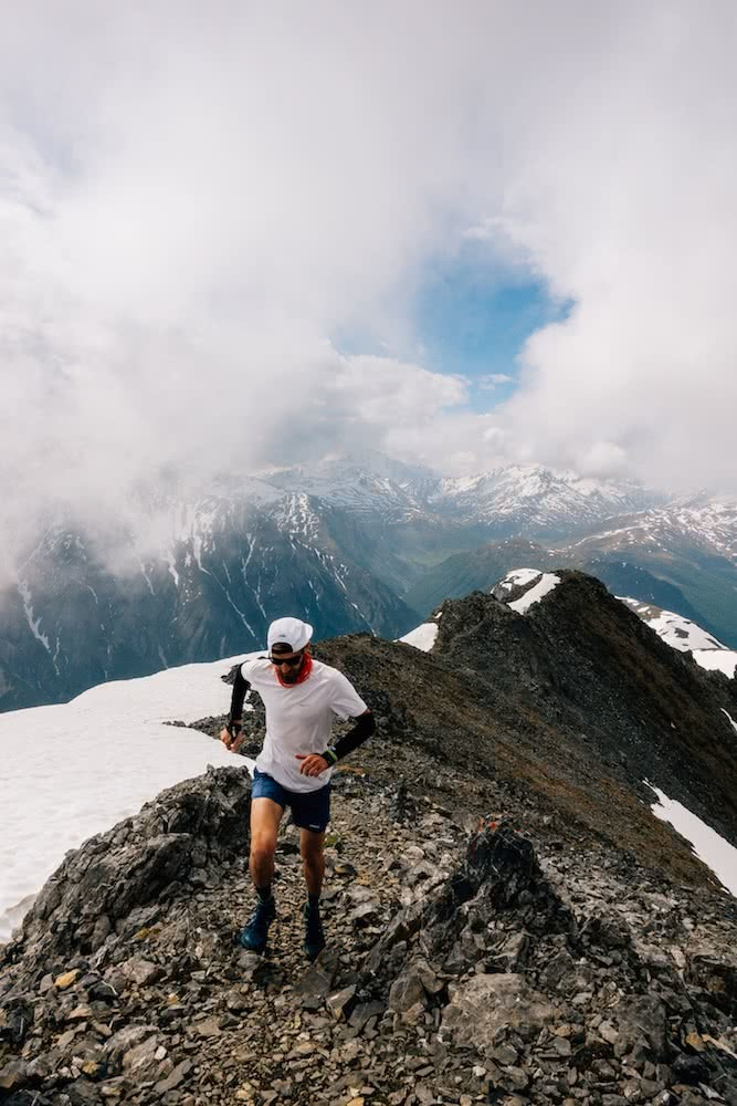 From Chronic Illness to Ultramarathons // An Interview With Dan Whitehead, photo by Dan Whitehead, the alps, trail running month, snow