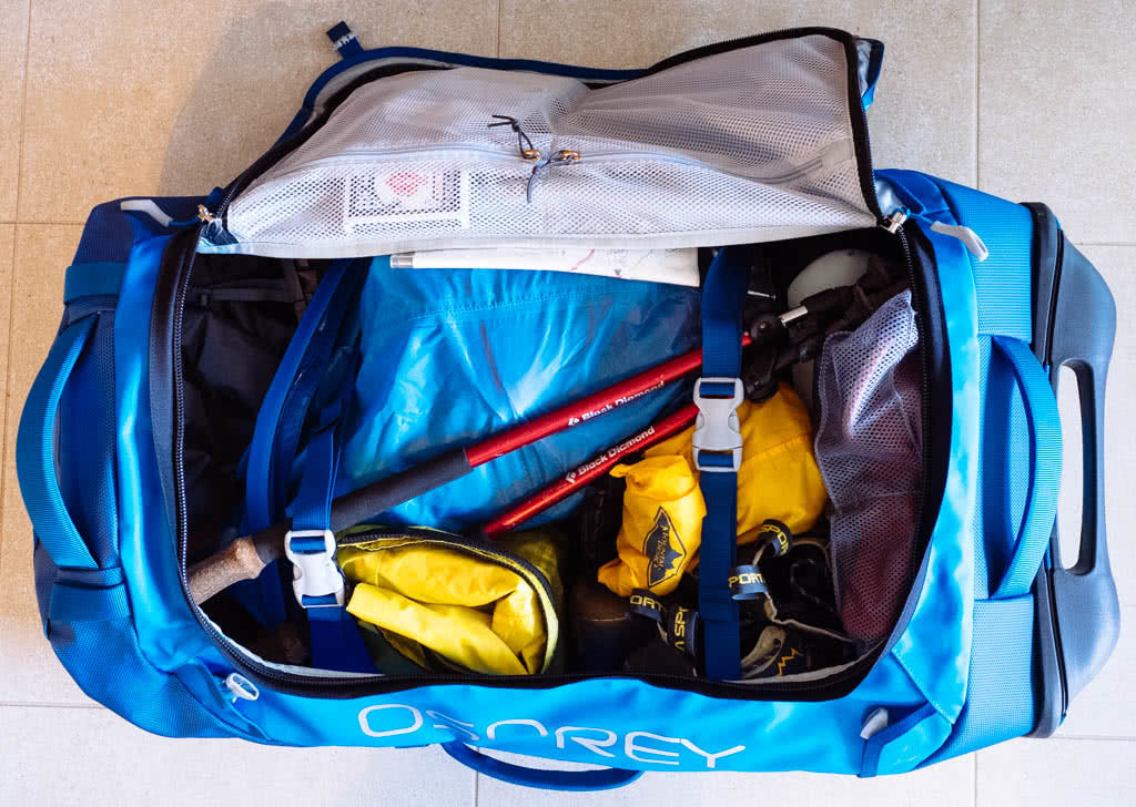 7 Tips For Planning An Adventure Holiday, james stuart, osprey duffel bag